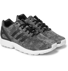 White Mountaineering + adidas Originals ZX Flux Shell Sneakers
