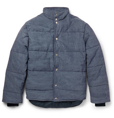 Our Legacy Pigment-Dyed Quilted Cotton Jacket