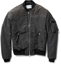 Our Legacy Brushed Cotton-Canvas Bomber Jacket