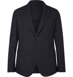 Our Legacy Navy Wool-Hopsack Blazer