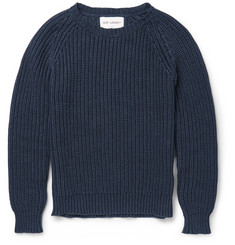 Our Legacy Ribbed-Knit Cotton Sweater