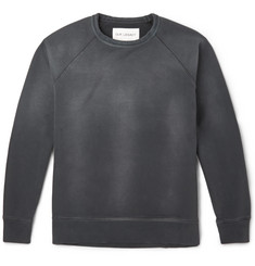Our Legacy Washed Cotton-Jersey Sweatshirt
