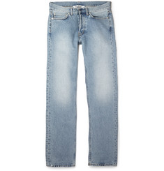 Our Legacy Straight-Leg Washed-Denim Jeans