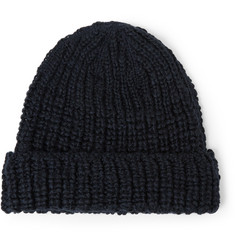 Our Legacy Ribbed Wool Beanie