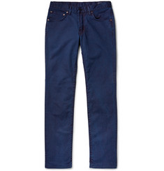 Blue Blue Japan Slim-Fit Stretch Cotton-Twill Jeans
