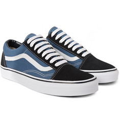 Vans Old Skool Canvas and Suede Sneakers
