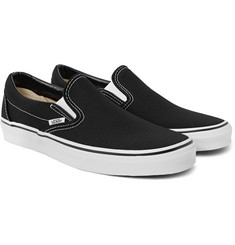 Vans Classic Canvas Slip-On Sneakers