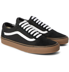 Vans Old Skool Suede and Canvas Sneakers