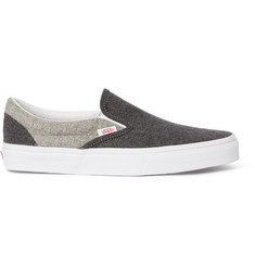 Vans Sport Classic Two-Tone Wool Slip-On Sneakers