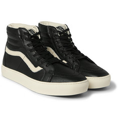 Vans - SK8-Hi Cup CA Leather High-Top Sneakers