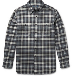 Polo Ralph Lauren Checked Brushed-Cotton Shirt