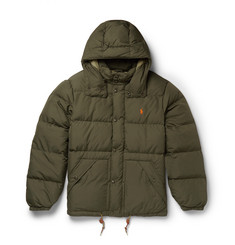 Polo Ralph Lauren Hooded Quilted Shell Down Coat