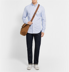Polo Ralph Lauren Button-Down Collar Tattersall-Check Cotton Oxford Shirt