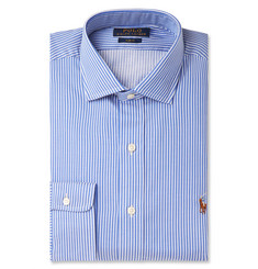 Polo Ralph Lauren Blue Striped Cotton Shirt