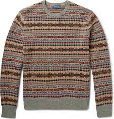 Polo Ralph Lauren Fair Isle Wool-Blend Sweater