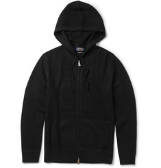 Polo Ralph Lauren Waffle-Knit Cashmere Hoodie