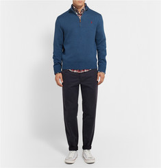 Polo Ralph Lauren Half-Zip Knitted Cotton Sweater