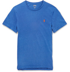 Polo Ralph Lauren Custom-Fit Mélange Cotton-Jersey T-Shirt