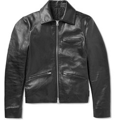Acne Studios August Leather Biker Jacket