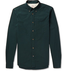 Acne Studios Isherwood Button-Down Collar Cotton Shirt
