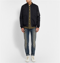 Acne Studios Isherwood Button-Down Collar Cotton-Flannel Shirt