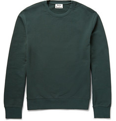 Acne Studios Casey Loopback Cotton-Jersey Sweatshirt