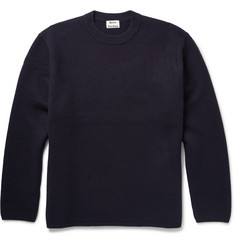 Acne Studios Micha Oversized Boiled Wool Sweater