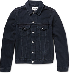 Acne Studios Jam Overdyed Denim Jacket