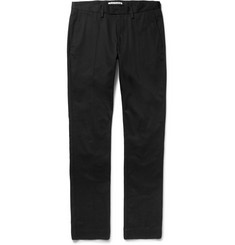 Acne Studios Max Satin Slim-Fit Cotton-Blend Twill Trousers