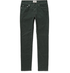 Acne Studios Ace Skinny-Fit Cotton-Blend Corduroy Trousers