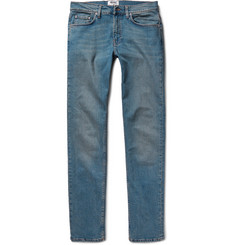 Acne Studios - Ace Slim-Fit Washed-Denim Jeans