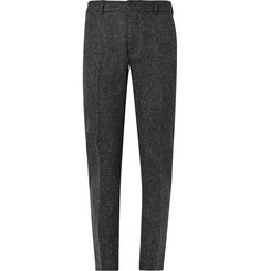 Acne Studios Grey Aron T Slim-Fit Shetland Wool-Tweed Trousers