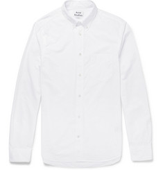 Acne Studios - Isherwood Button-Down Collar Cotton-Poplin Shirt
