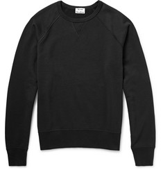 Acne Studios - College Loopback Cotton-Jersey Sweatshirt