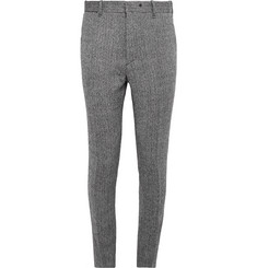 Rag & bone Slim-Fit Herringbone Wool Trousers