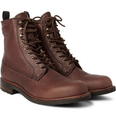 Rag & bone Officer Distressed Leather Boots