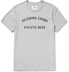 Reigning Champ Printed Cotton-Jersey T-Shirt