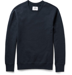 Reigning Champ Fleece-Backed Cotton-Jersey Sweatshirt