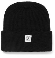 Reigning Champ Ribbed-Knit Merino Wool Beanie