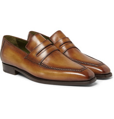Berluti - Andy Burnished-Leather Loafers