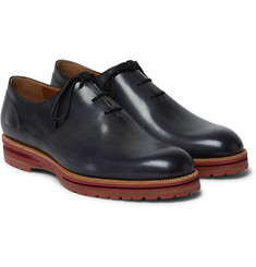 Berluti - Alessio Whole-Cut Leather Oxford Shoes