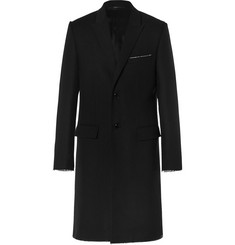 Givenchy Raw-Edged Wool Coat