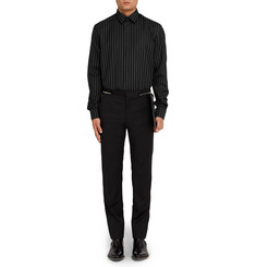 Givenchy Columbian-Fit Pinstriped Wool Shirt