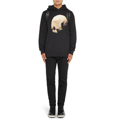 Givenchy Columbian-Fit Printed Cotton-Jersey Hoodie