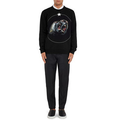 Givenchy Cuban-Fit Printed Cotton-Jersey Sweatshirt