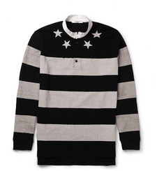 Givenchy - Columbian-Fit Striped Cotton Polo Shirt