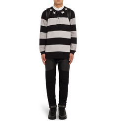 Givenchy Columbian-Fit Striped Cotton Polo Shirt