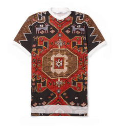 Givenchy Printed Cotton Polo Shirt