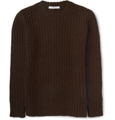 Givenchy Zip-Detailed Camel Sweater