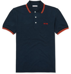 Michael Bastian Hug Me Stretch-Cotton Piqué Polo Shirt